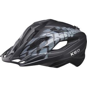 KED Street Jr. Pro casco per bici Bambino nero